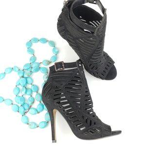 Chelsea & Zoe | Parnika Caged Heels